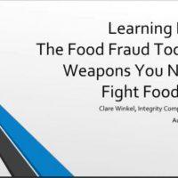 Food Fraud Toolbox